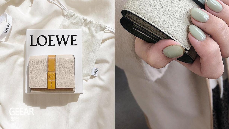 优雅又实用Loewe短款钱包,纷纷成为入手目标!