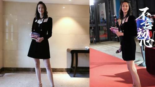 192cm惠若琪开启炫腿模式!穿条健身裤就走机场,大长腿都遮不住