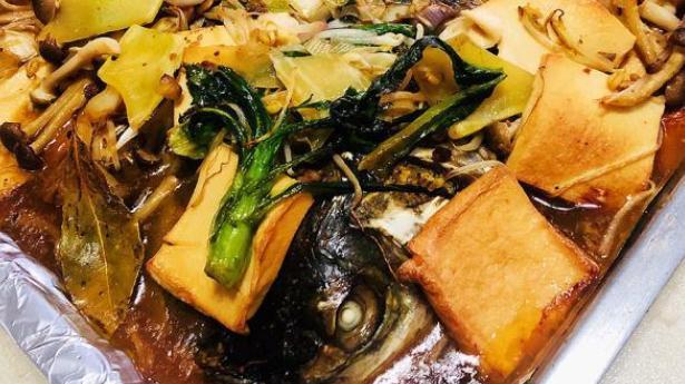 酱香烤鱼,十分入味,超级好吃