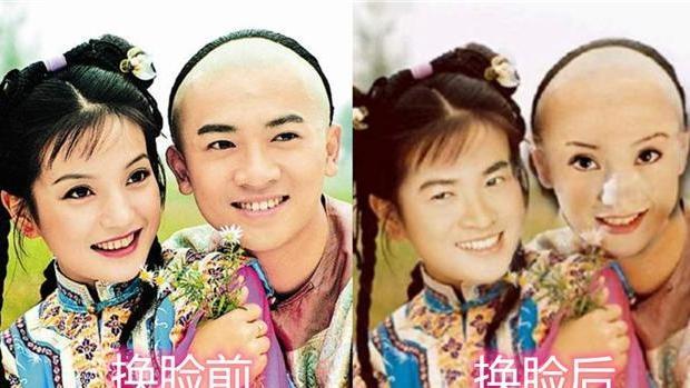 """有种P图叫""""男女主换脸"""",杨幂胡歌搞笑,可看到他俩:有颜任性"""