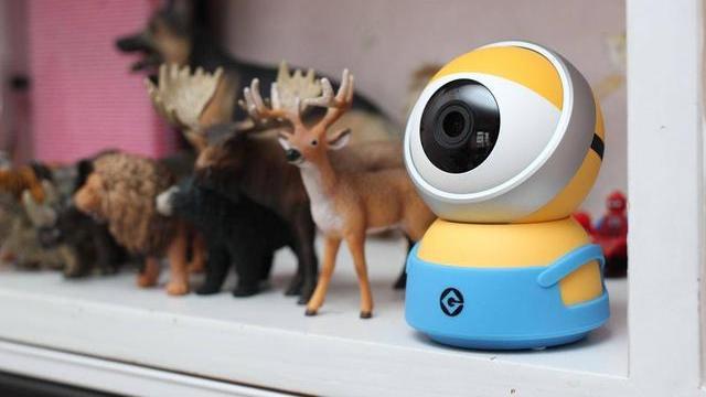 高颜值也能震慑宵小,小白系列之小黄人摄像机评测