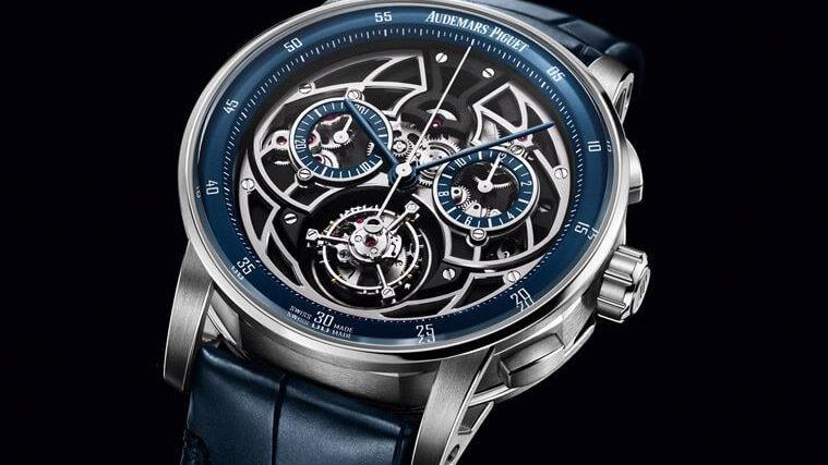 AP爱彼第一款结合 飞行陀飞轮和计时功能的腕表
