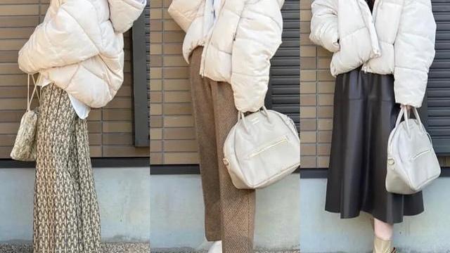 日本时尚博主的秋冬日常,一衣多穿的小技巧,为衣橱节省太多空间
