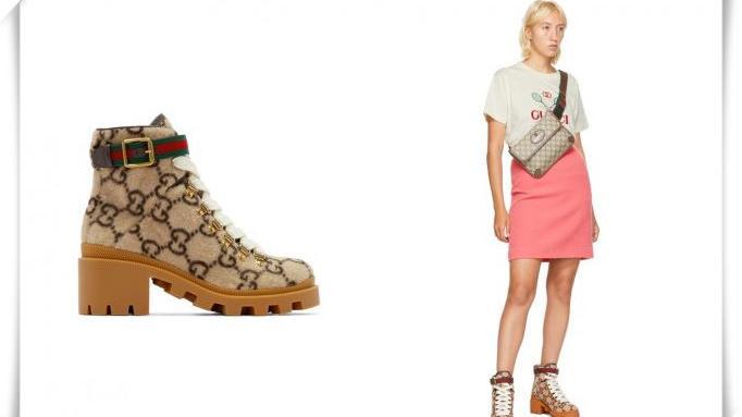 Gucci这双雪地靴,可能是最挑战穿搭功力的鞋款!