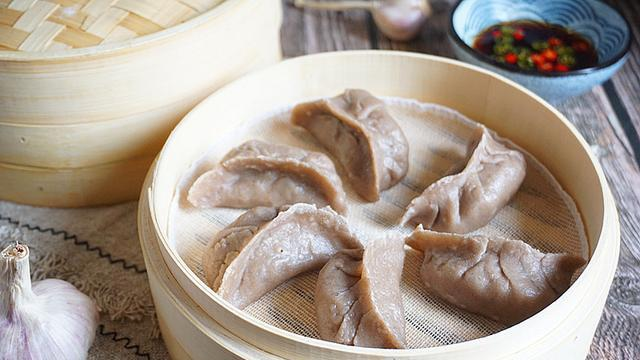 低脂高纤荞麦胡萝卜驴肉蒸饺,简单好做不破皮,减肥吃它真健康!