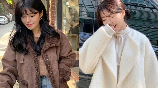 真服韩国时尚博主,用简约基础款搭配冬日穿搭,优雅时髦又保暖