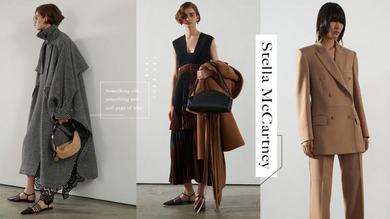 2020早秋服装 Stella McCartney将新旧元素交织为经典魅力
