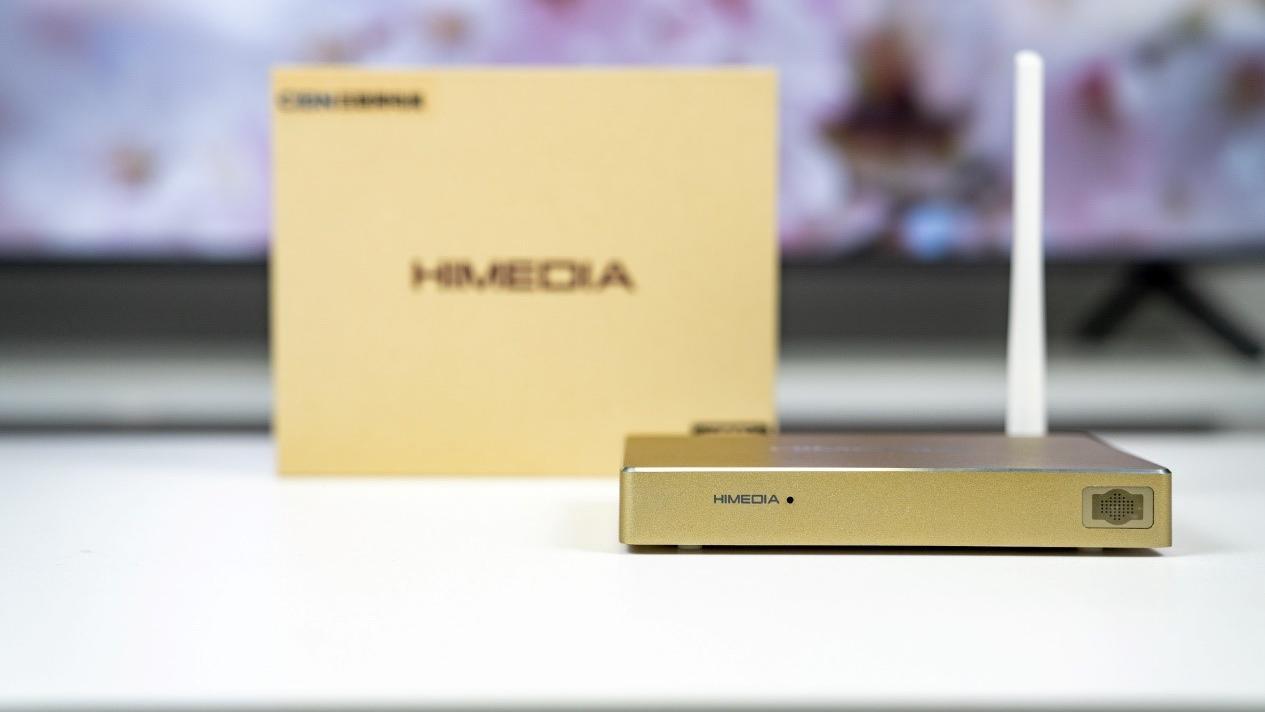 无广告4KHDR 智能电视盒,海美迪H7 Plus开箱评测