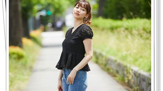 黑色蕾丝上衣怎么配下装?24种日系流行穿搭示例,让你魅力翻倍
