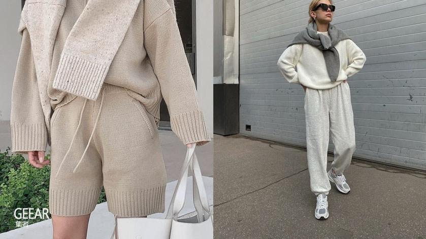 冬天就是要一件卫衣,时髦女生都在穿的运动服!