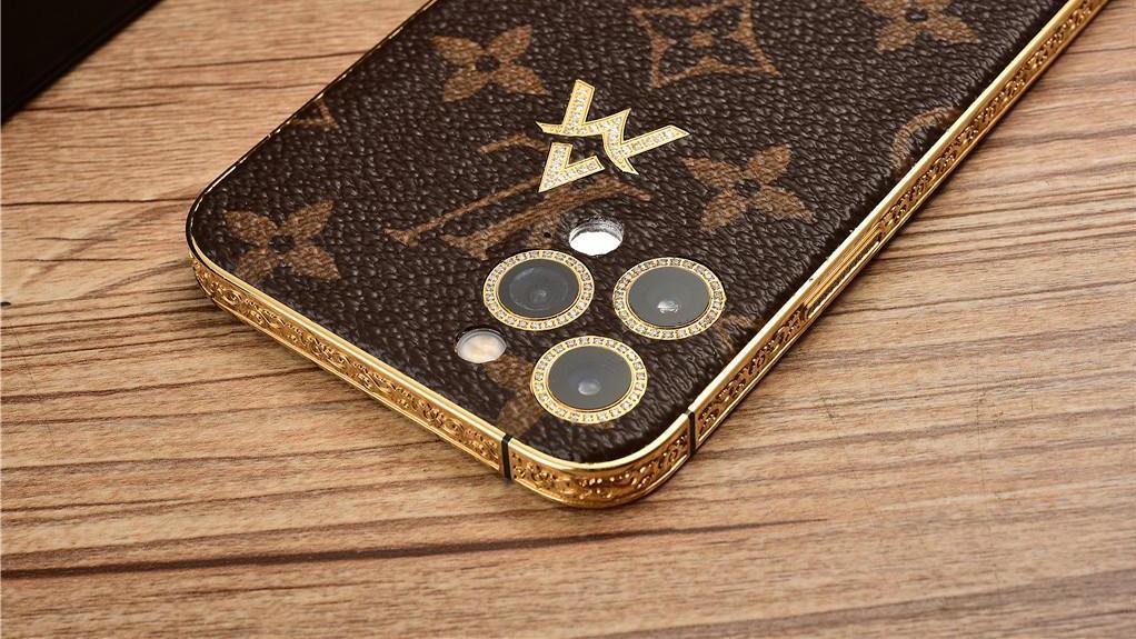 最高售价39888!LV官方正品皮具定制,奢华版iPhone 12登场!