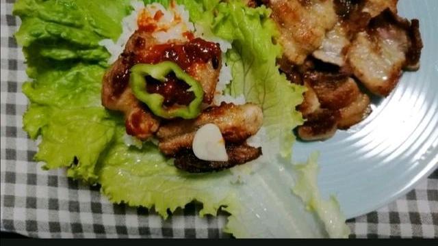 韩国料理煎五花肉,别有一番风味!