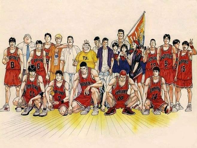 《灌篮高手》续集八:教练,我想打篮球