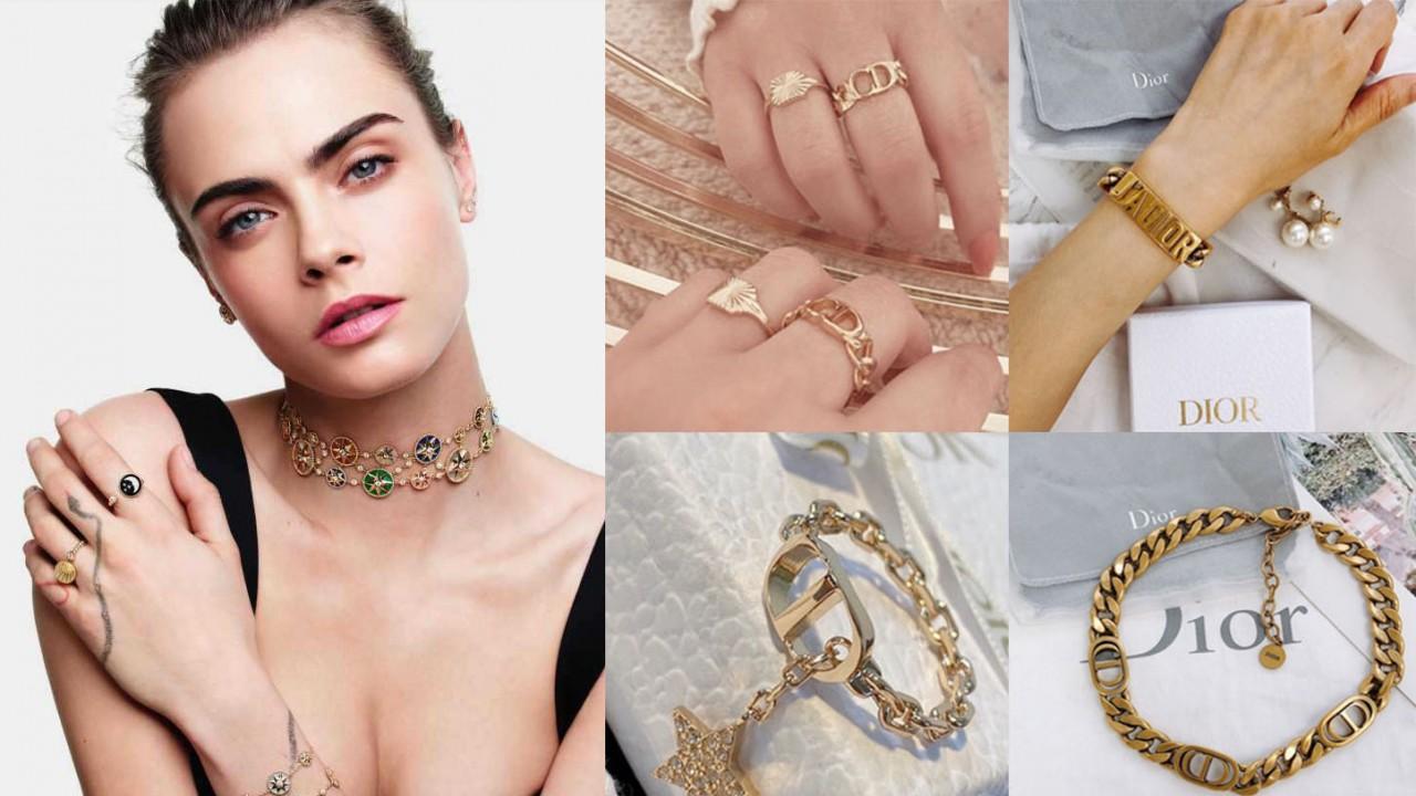 珠宝能给造型画龙点睛,Dior收藏系入门级饰品