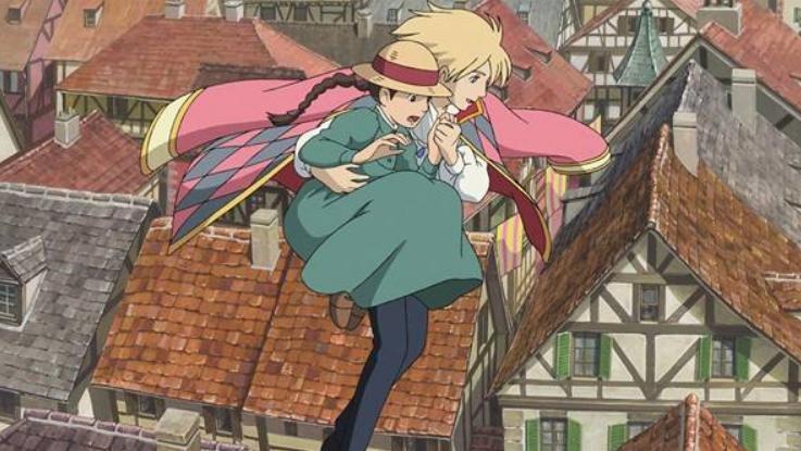 动漫《哈尔的移动城堡》,苏菲和哈尔的爱情,可以使对方勇敢