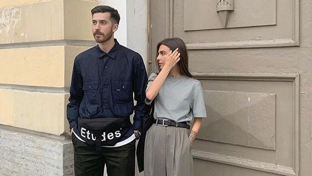 最全情侣穿搭,时尚博主Maria和男友亲身示范,一个帅一个美