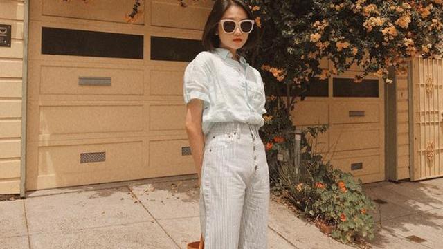 这个中国女孩很会穿,用3个简单时尚法则,成为专业造型搭配师