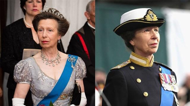 35岁后的安妮公主,颜值虽不及儿时,时尚穿搭高级优雅