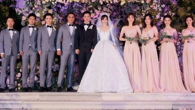 唐嫣罗晋结婚时,没人瞧得起伴娘团,如今她们个个让人高攀不起了
