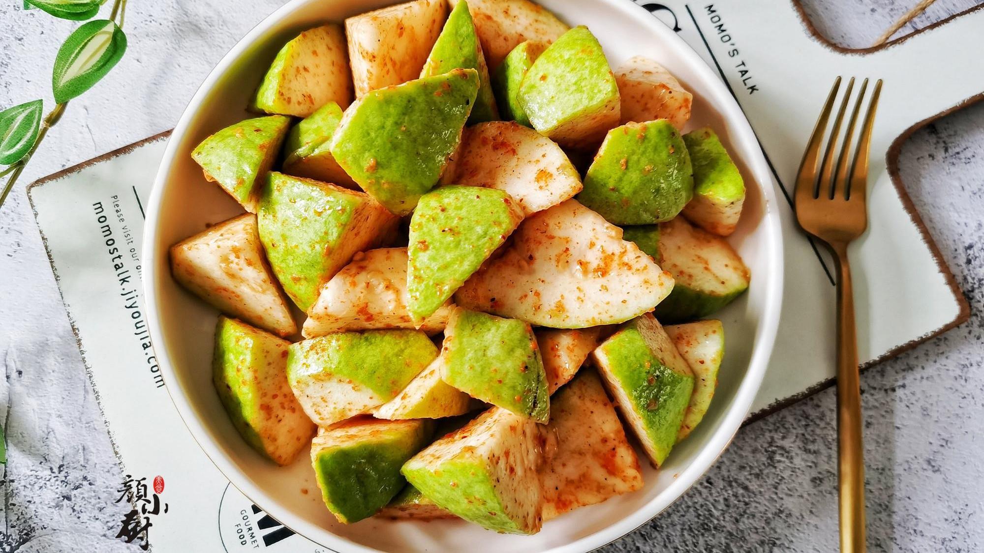 4月吃这水果正当季,5元一斤,简单拌一拌,开胃又解馋
