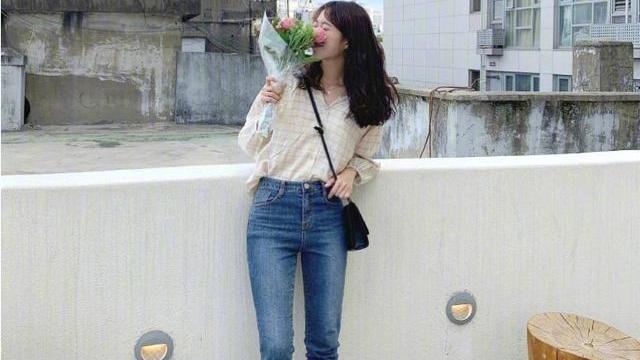 韩国155cm博主把裤装穿火了!时髦显高又清新怡人,不露腿也高级