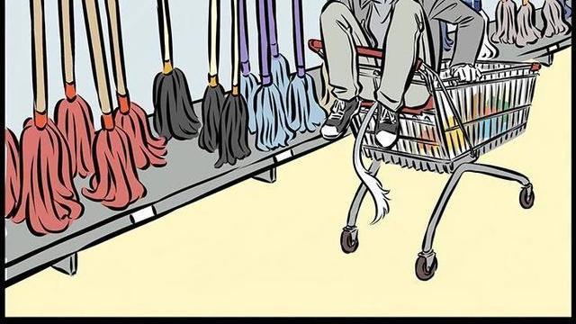 非人哉:九月超市偶遇杨戬,哮天犬坐儿童座椅,飙车技术一流