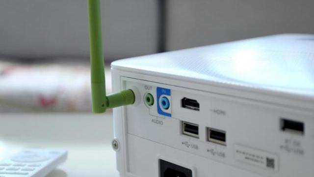 超清画质+无线投屏,明基E592商务智能投影仪评测体验