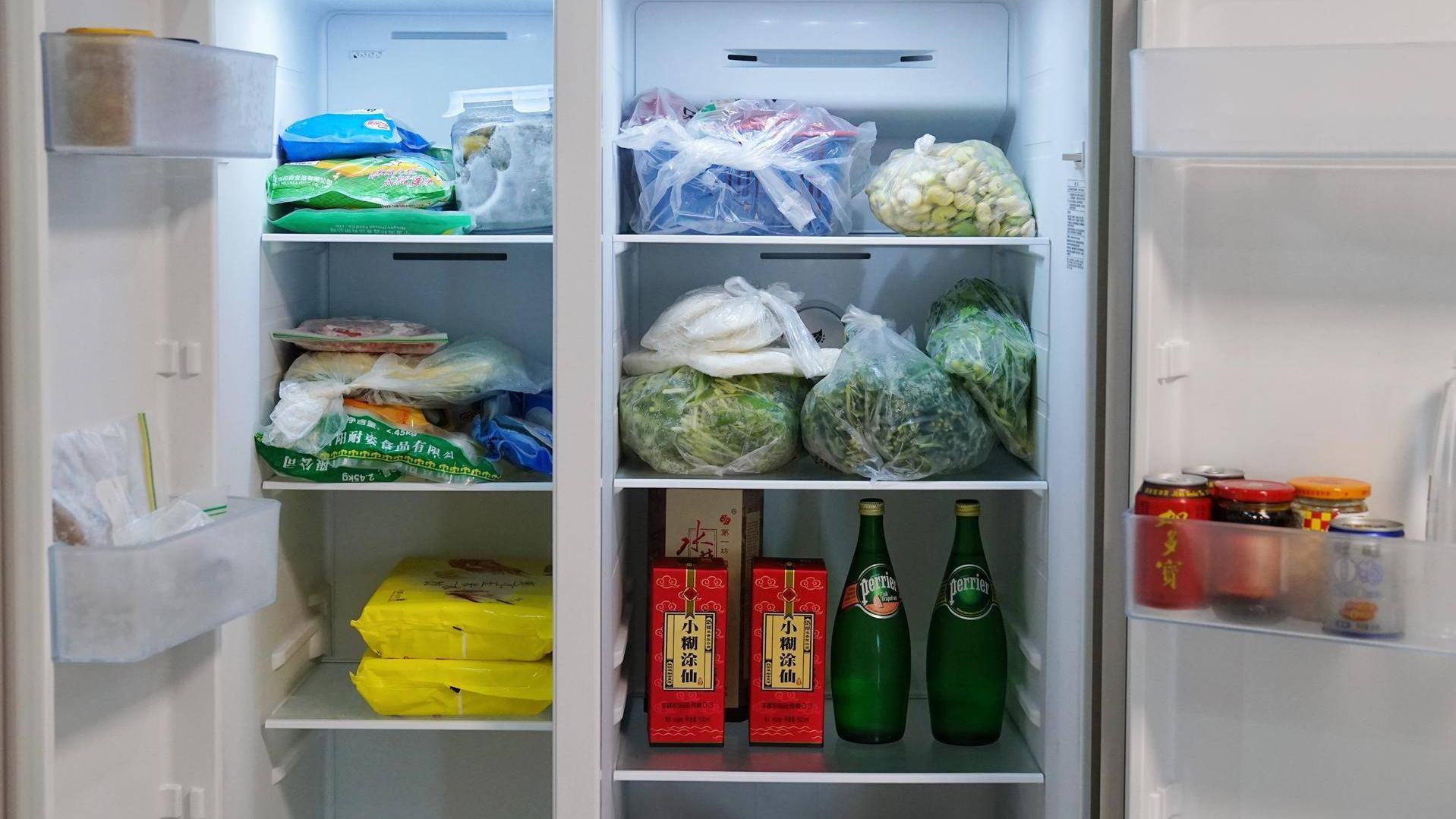 大容量杀菌净味冰箱了解一下!海信食神568升对开门冰箱评测