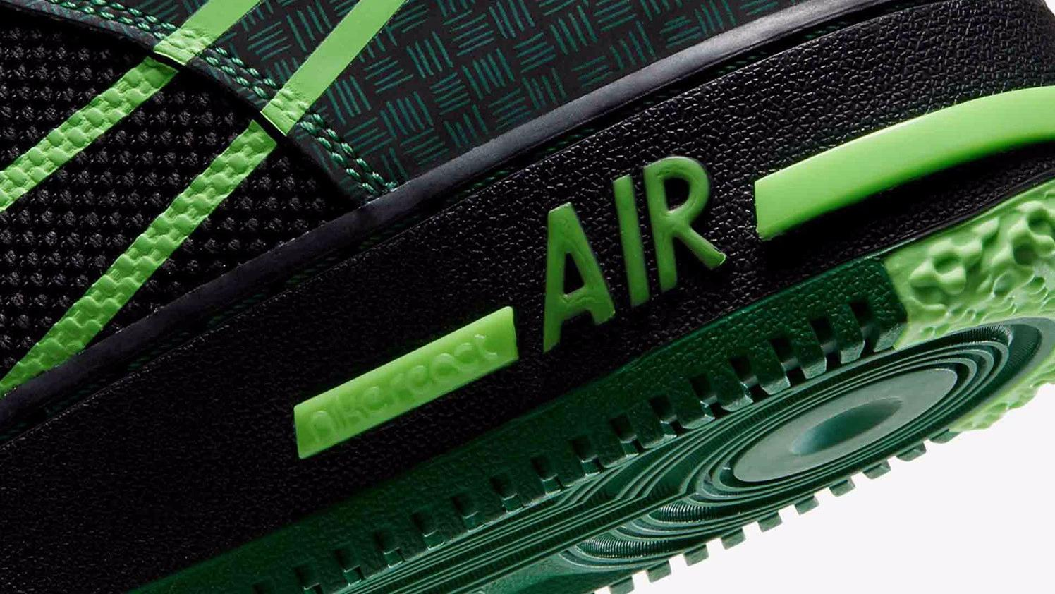 "耐克推出全新Air Force 1 React ""Naija""运动鞋"