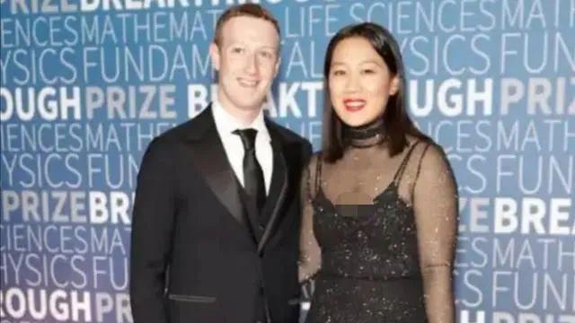 扎克伯克华裔老婆不一般,孕期穿红裙优雅从容,终于明白她美在哪