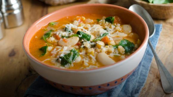 大麦蔬菜汤