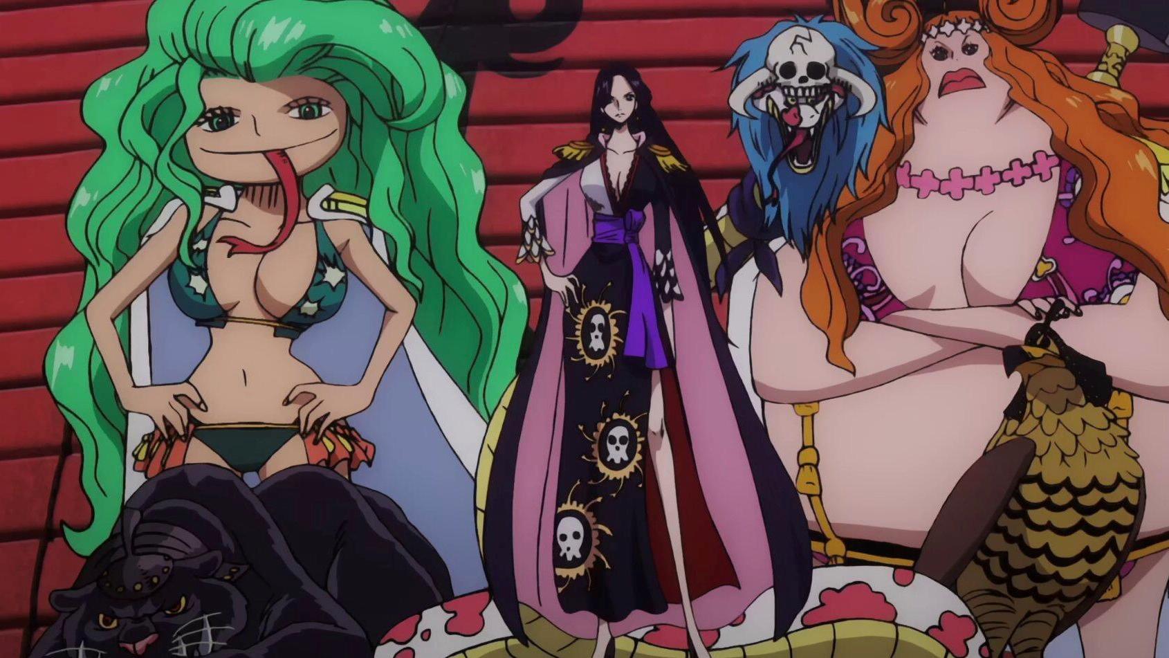 海贼王:女帝性格大分析,她的三个黑料纯属无稽之谈!