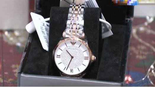男子苏宁1300买阿玛尼手表,鉴定为假货,售后:不清楚