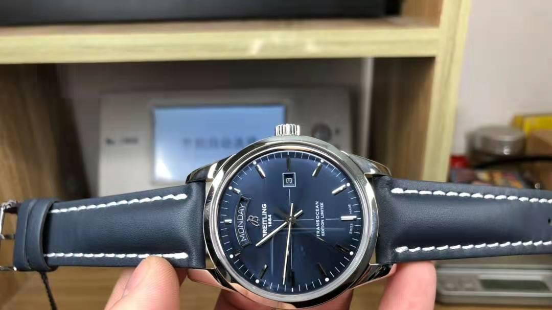 单款评测丨百年灵越洋系列头等舱腕表,做工能让你满意吗