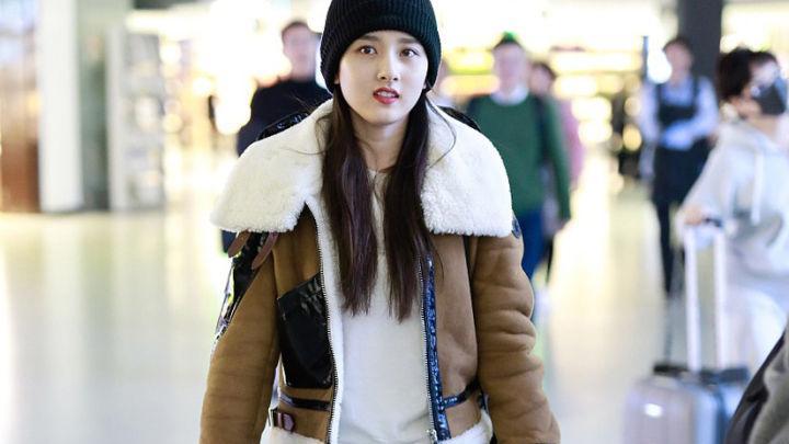 集温度与风度的皮毛一体外套,时髦帅气还很暖和,你不来一件?