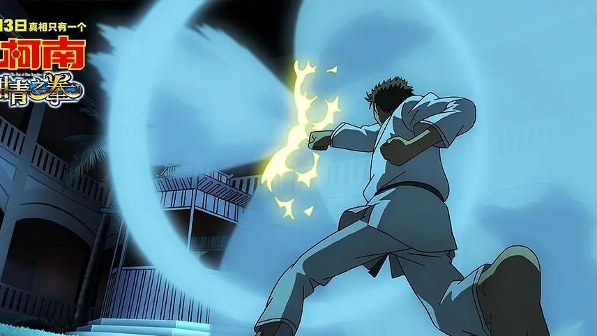 """名侦探柯南1033集:动画演示何为""""柯学"""",物理定律尽在柯南掌控"""