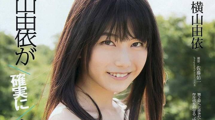 日本28岁女神横山由依,参观京都不死鸟主场,尽显甜美气质
