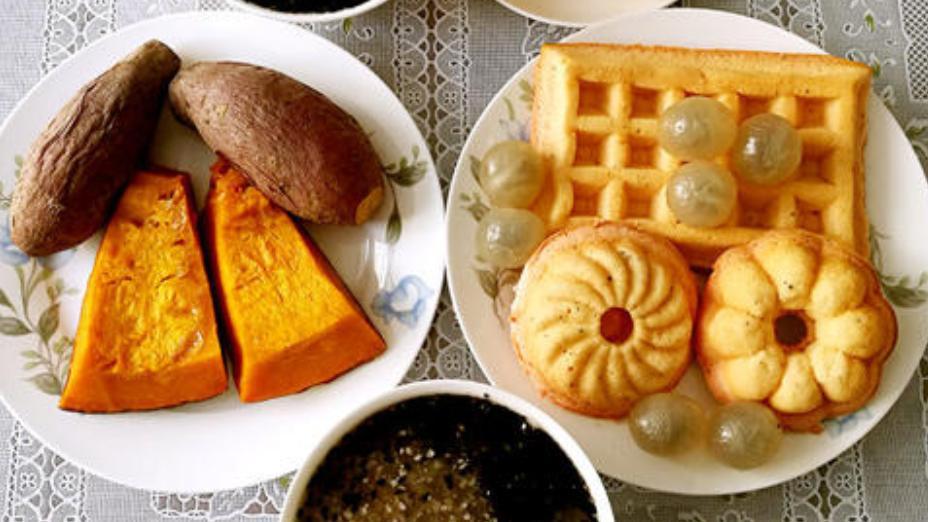 香橙小豆蔻麦片华夫饼,完成这个食谱,需要一个华夫饼机