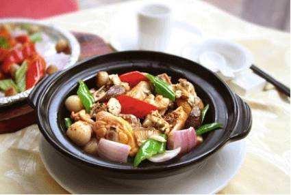 减脂餐香焖洋葱鸡肉的做法