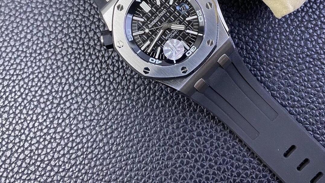 腕表刻度1号:评测JF厂爱彼皇家橡树V10版15710腕表