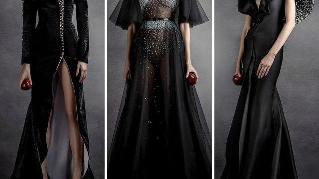 JeanLouisSabaji和施华洛世奇联名高定礼服,怪异还是美丽?