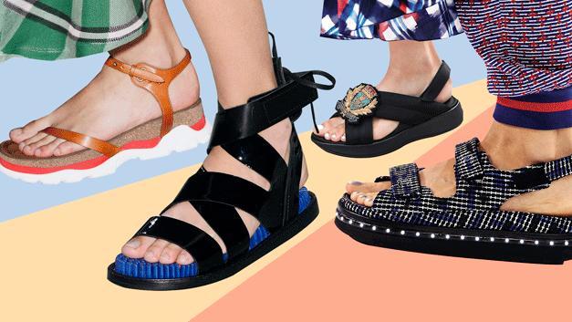 今年流行什么鞋?潮人明星都在穿的这些老爹凉拖,舒适时尚又帅气