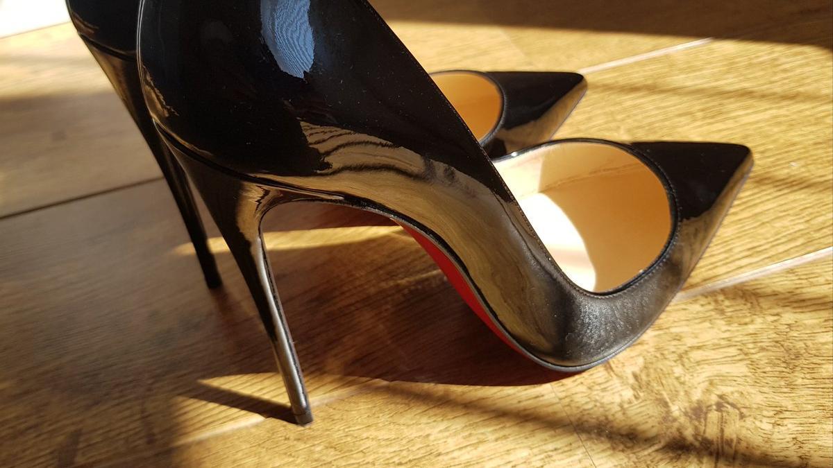 2020欧美大牌尖头漆皮细高跟鞋 女性的秘密武器