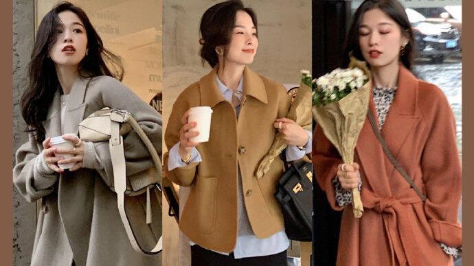 时髦的职场女性都是这样穿,现代简约职场风穿搭示范,温柔干练