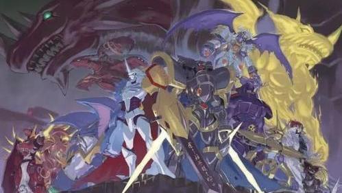 数码宝贝:皇骑差距很大,奥米加兽战力六千,阿尔法兽一万以上