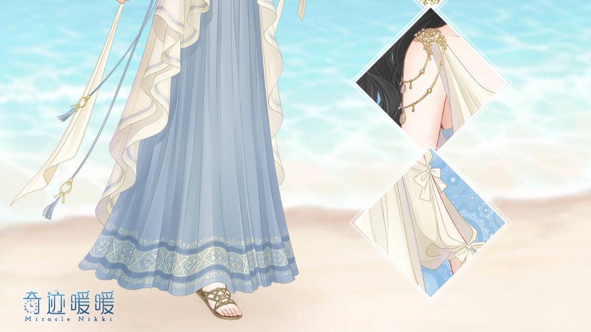 奇迹暖暖:最美沙滩女孩,夏威夷扭蛋超值?18R的水手服更可爱