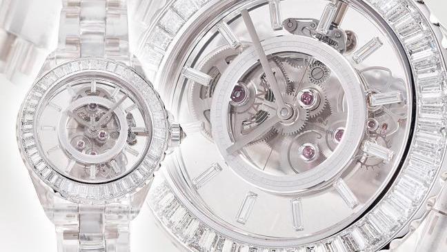一场透视美学革命,香奈儿J12 X-Ray腕表