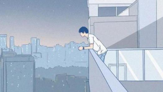 男生不删前任微信的真相(漫画)