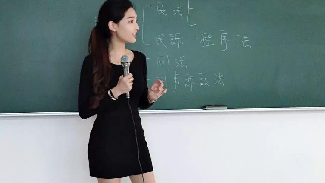 北科大一位女老师因高颜值火了!撞脸女星金喜善,学生抢着来上课