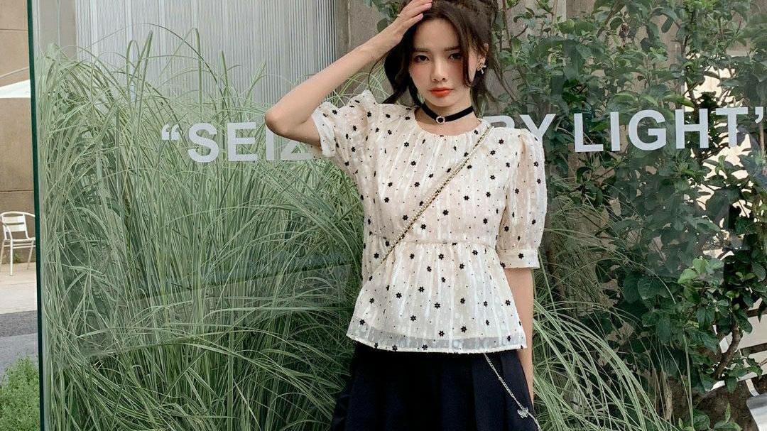 夏天不知道穿什么?试试这些超简约的韩范套装,好看又舒适